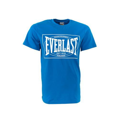 Футболка Everlast Choice of Champions, Синяя EverlastФутболки<br>Футболка Everlasr Choice of Champions. Классика боксёрского бренда Everlast. Состав: 92% хлопок, 8% лайкра.<br><br>Размер INT: XXL