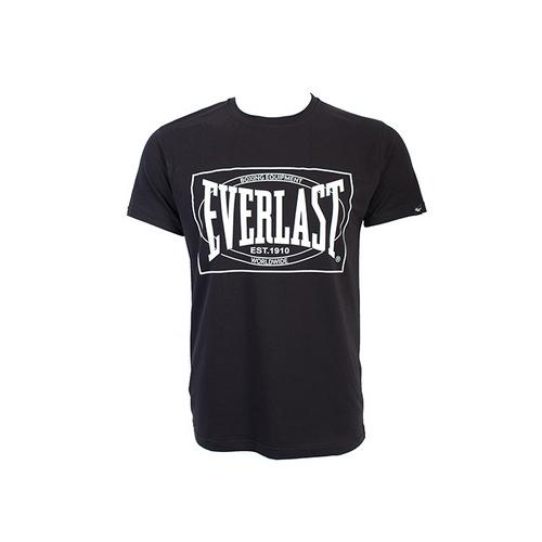 Футболка Everlast Choice of Champions, Черная EverlastФутболки<br>Футболка Everlasr Choice of Champions. Классика боксёрского бренда Everlast. Состав: 92% хлопок, 8% лайкра.<br><br>Размер INT: L