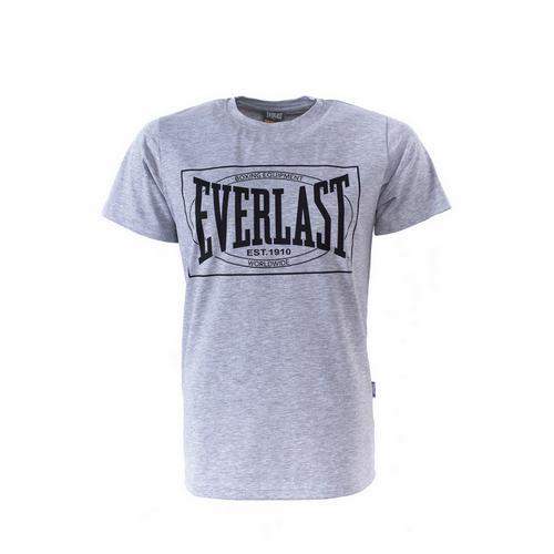 Футболка Everlast Choice of Champions, Серая EverlastФутболки<br>Футболка Everlasr Choice of Champions. Классика боксёрского бренда Everlast. Состав: 92% хлопок, 8% лайкра.<br><br>Размер INT: L