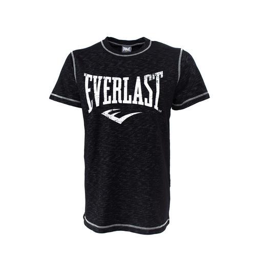 Футболка Everlast Gym, Черная EverlastФутболки<br>Футболка Everlasr Gym. Классика боксёрского бренда Everlast. Состав: 78% хлопок, 22% полиэстер.<br><br>Размер INT: XXL