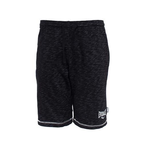 Спортивные шорты Everlast Gym, Черные EverlastСпортивные штаны и шорты<br>Спортивные шорты Everlast Gym выполнены из хлопкового трикотажа. Модель прямого силуэта. Эластичный пояс со шнурком, два боковых кармана.<br><br>Размер INT: M