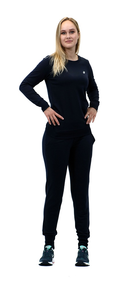 Спортивный костюм ASICS 142917 0891 SWEATER SUIT  AsicsСпортивные костюмы<br>Спортивный костюм ASICS 142895 0891 SWEATER SUIT•Стильный спортивный костюм из толстовочного трикотажа подойдет как дя тренировок, так и для повседневной носки. •Воздухопроницаемый мягкий материал отводит влагу с поверхности кожи, создавая оптимальный микроклимат и комфортные ощущения. •Модель приталенного силуэта выгодно подчеркнет вашу фигуру. •Низ толстовки и манжеты имеют трикотажную резинку для идеального облегания и комфортной носки.<br><br>Размер INT: S