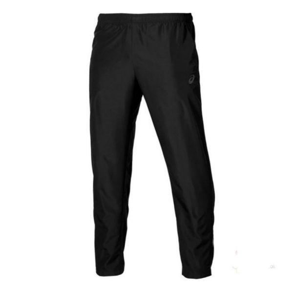 Беговые брюки ASICS 134101 0904 WOVEN PANT  AsicsСпортивные штаны и шорты<br>Беговые брюки ASICS 134101 0904 WOVEN PANT•Мужские брюки от компании ASICS отлично подойдут для пробежек и повседневной носки. •Данная модель выполнена из высококачественного материала, который обеспечивает отличную вентиляцию и имеет хорошую износостойкость. •На талии имеется удобная эластичная резинка, которая не позволит штанам сползать. •Брюки имеют боковые карманы, а также молнии на задней части штанин, благодаря чему брюки легко снимать и надевать.<br><br>Размер INT: XL