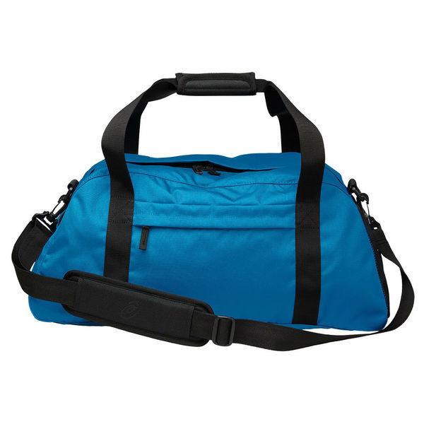Спортивная сумка ASICS 127692 8154 TRAINING ESSENTIALS GYMBAG  AsicsСпортивные сумки и рюкзаки<br>Спортивная сумка ASICS 127692 8154 TRAINING ESSENTIALS GYMBAG•Вместительная спортивная сумка с удобными ручками и плечевым ремнем из 100%-ного полиэстера (600D). •Большое центральное отделение на молнии и небольшое отделение внутри для влажных/сухих вещей. •Регулируемый плечевой ремень и удобные ручки с мягкой манжетой для переноски. •Спереди сумка дополнена карманом на молнии и сетчатым карманом сбоку. •Размеры (Д х Ш х В): 53 х 21 х 24 см.<br>