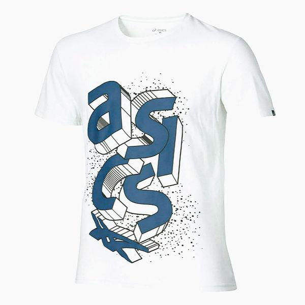 Футболка ASICS 134785 0001 BLOCK SS TOP  AsicsФутболки<br>Футболка ASICS 134785 0001 BLOCK SS TOP•Женская футболка от ASICS прекрасно подходит как для занятия спортом, так и для повседневной носки. •Оригинальный графический принт на футболке создает неповторимый стиль и яркий образ. •Мягкая ткань с влаговыводящими свойствами обеспечивает при этом прекрасный воздухообмен.<br><br>Размер INT: XL