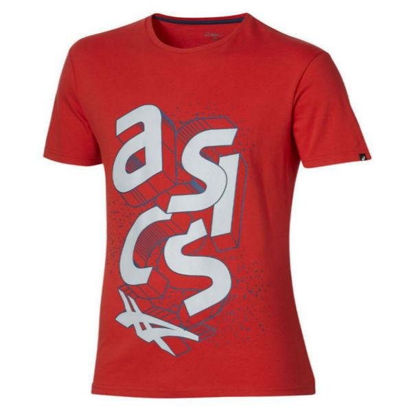 Футболка Asics 134785 0672 block ss top  AsicsФутболки<br>Футболка ASICS 134785 0672 BLOCK SS TOP•Женская футболка от ASICS прекрасно подходит как для занятия спортом, так и для повседневной носки. •Оригинальный графический принт на футболке создает неповторимый стиль и яркий образ. •Мягкая ткань с влаговыводящими свойствами обеспечивает при этом прекрасный воздухообмен.<br><br>Размер INT: XL