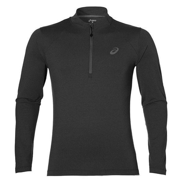 Беговая рубашка Asics 141202 0773 ls 1/2 zip jersey AsicsФутболки<br>Беговая рубашка ASICS 141202 0773 LS 1/2 ZIP JERSEY•Беговая рубашка прекрасно подойдет для активных тренировок на улице или в зале в любой сезон. •Вашей коже понравится мягкое и легкое прикосновение дышащей ткани, которая обладает влагоотводящими свойствами, повышенной износостойкостью и эластичностью. •Воротник-стойка лонгслива дополнен застежкой на молнии. •Швы расположены так, чтобы исключить натирание кожи во время тренировки. •Светоотражающий логотип обезопасит в условиях плохой видимости.<br><br>Размер INT: M