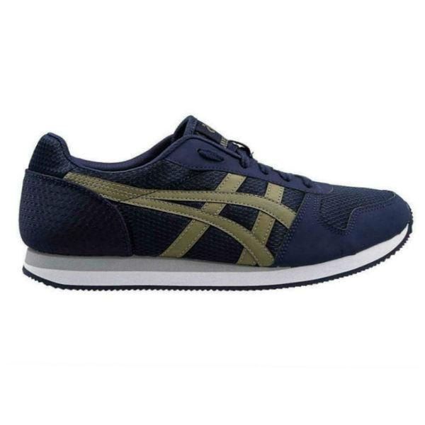 Обувь спортивная мужская ASICS HN7A0 5808 CURREO ll AsicsКроссовки<br>Спортивная обувь ASICS HN7A0 5808 CURREO ll ASICS CURREO - удобная практичная обувь для повседневной носки, новая интерпретация классической модели в стиле 80-x. У кроссовок предусмотрена усовершенствованная подошва EVA, которая обеспечивает дополнительную гибкость и амортизацию, а также отделка контрастными фирменными полосками, похожими на полосы тигра, что придает кроссовкам стильный хищный дизайн. Характерной особенностью является конструкция подошвы, которая придает модели ощущение легкости при носке. Внешняя подошва обеспечивает дополнительную гибкость и амортизацию, в то время как носовая и пяточная часть - для дополнительной износостойкости. Данная модель идеально подходит как для занятий бегом, так и для повседневной носки, съемная стелька с антибактериальной пропиткой обеспечит комфортный и здоровый климат внутри спортивной обуви. Технологии, использованные в модели ASICS CURREO:•EVA. Легкий эластичный материал подошвы, обладающий великолепными амортизирующими свойствами и высокой износостойкостью. •Removable Sockliner. Съемная стелька с антибактериальной пропиткой из вспененного материла при необходимости может быть заменена на ортопедическую.<br><br>Размер INT: 7