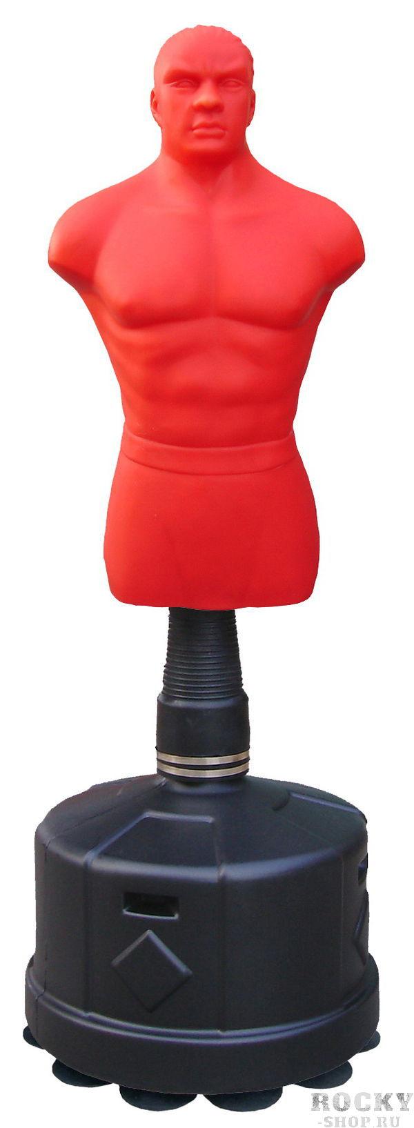 Боксерский манекен водоналивной STATUS 166, 172-182 см STATUS BoxingСнаряды для бокса<br>Водоналивной манекен для бокса с регулируемой высотой от 172 до 182 смМанекен сделан из высокоплотной уретановой пены покрытой снаружи пластизолем. Высота корпуса рабочей части 98 смДиаметр основания 62 смОснование можно заполнить водой или пеком. При заполнении водой вес основания 115 кг, песком 160 кг. Материал - пластизольПростота в установке и использовании<br><br>Размер: Красный