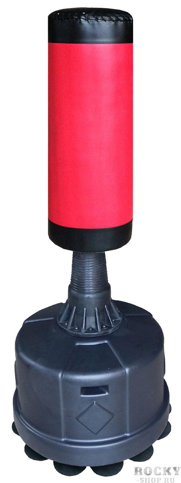 Мешок водоналивной STATUS X30RD, 170 см STATUS BoxingСнаряды для бокса<br>Мешок водоналивной напольный высотой 170 смРазмер мешка 90 х 30 смМатериал поверхности: кожаДиаметр основания 62 смОснование можно наполнить водой или песком. Вес основания наполненного водой 115 кг. песком 160 кг. Манекен очень удобен для отработки ударов с любой стороны.<br>