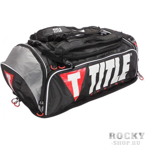 Сумка-рюкзак TITLE EXCEL HYPER SPORT TITLEСпортивные сумки и рюкзаки<br>Невероятная новая дизайн-концепция спортивных сумок от Title Boxing. U-образный замок в полную длину сумки обеспечивает открытие доступа к супер просторной зоне для хранения всего, что вам требуется, и больше. Боковой карман на молнии на боковой панели для быстрого доступа к содержимому. Очень большой карман с эксклюзивной технологией дышащих каналов, идеально подходит для укладки влажных вещей после тренировки. Еще один карман на молнии на конце сумки имеет длинную основу, позволяющую положить обувь или экипировку. Эксклюзивный добавленный сверху ударопрочный карман предназначен для хрупких предметов. Изолированный отсек для бутылки с водой. Вся нижняя панель с изоляцией. Сумка может использоваться,как рюкзак. Лямки регулируются, на подкладке,что позволяет с большим удобством использовать эту сумку-рюкзак. Также имеется съемный и регулируемый плечевой ремень, полностью на подкладке с нейлона. Размеры: 72 см * 35 см * 35 см.<br>