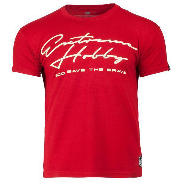 Футболка rapid signature, красный Extreme HobbyФутболки<br>Футболка с коротким рукавом Extreme hobby изготовлена из материала высочайшего качества. На футболке отсутствуют боковые швы, а принты усилены HD эффектами и гелевым нанесением. <br>МАТЕРИАЛ: 100% ХЛОПОК<br><br>Размер INT: XXL