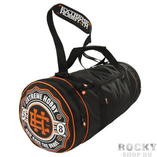 Спортивная сумка Bazooka черный Extreme HobbyСпортивные сумки и рюкзаки<br>Удобная и функциональная спортивная сумка BAZOOKA (различных цветов). Внутри сумки есть основное отделение и один внутренний карман на молнии. Сумка также оснащена двумя боковыми карманами. Две усиленные ручки и регулируемый эргономичный ремень для носки на плече. Диаметр: 31см /Общая длина: 67см / ширина основного отсека: 51см / ширина боковых карманов: 8 см. Также обратите внимание на другие наши аксессуары. <br>КОЛЛЕКЦИЯ: 58 BASIC<br>ЦВЕТ: ЧЕРНЫЙ<br>МАТЕРИАЛ: 100% ПОЛИЭСТЕР<br><br>Размер: Универсальныйразмер