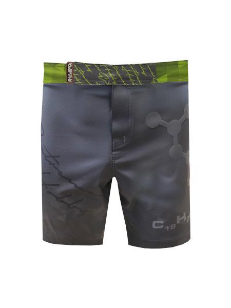 Спортивные шорты rapid (зеленый), зеленый Extreme HobbyСпортивные штаны и шорты<br>Ультралегкие шорты, изготовленные по спец технологии сплетения полиэфирного волокна с техникой рип-стоп . Чрезвычайно прочные с очень низкой поверхностной плотностью. Эластичная ткань обеспечивает свободу движений во время интенсивных тренировок . Шорты приятны на ощупь. Не впитывают влагу и не теряют цвет из-за УФ-излучения (рисунки не выцветают на солнце). <br>КОЛЛЕКЦИЯ: SPORT<br>ЦВЕТ: ЗЕЛЕНЫЙ<br><br>Размер INT: XXL