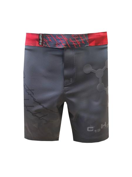 Спортивные шорты rapid (красный), красный Extreme HobbyСпортивные штаны и шорты<br>Ультралегкие шорты, изготовленные по спец технологии сплетения полиэфирного волокна с техникой рип-стоп . Чрезвычайно прочные с очень низкой поверхностной плотностью. Эластичная ткань обеспечивает свободу движений во время интенсивных тренировок . Шорты приятны на ощупь. Не впитывают влагу и не теряют цвет из-за УФ-излучения (рисунки не выцветают на солнце).<br><br>Размер INT: XXL