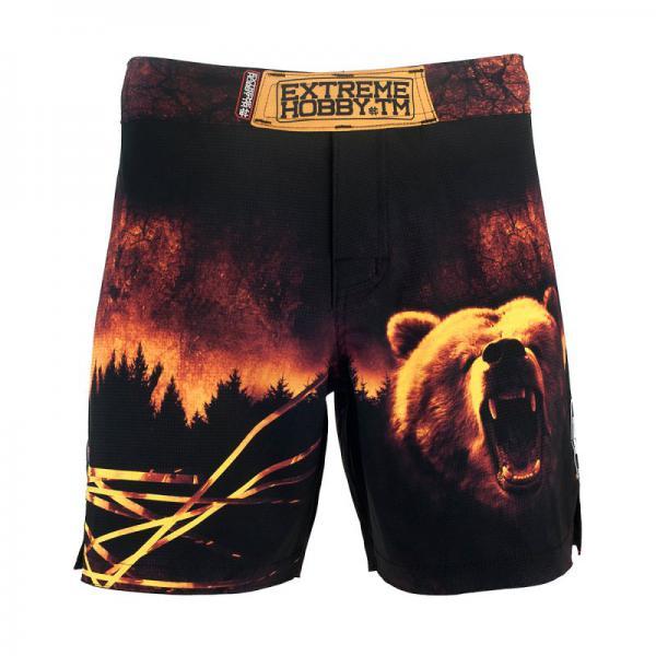 Шорты спортивные медведь Extreme HobbyСпортивные штаны и шорты<br>Ультралегкие шорты, изготовленные по спец технологии сплетения полиэфирного волокна с техникой рип-стоп . Чрезвычайно прочные с очень низкой поверхностной плотностью. Эластичная ткань обеспечивает свободу движений во время интенсивных тренировок . Шорты приятны на ощупь. Не впитывают влагу и не теряют цвет из-за УФ-излучения (рисунки не выцветают на солнце). <br>КОЛЛЕКЦИЯ: SPORT<br>ЦВЕТ: ЧЕРНЫЙ<br>МАТЕРИАЛ: 82% ПОЛИЭСТЕР 18% ЭЛАСТАН<br><br>Размер INT: L