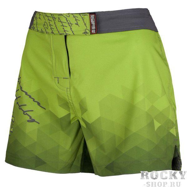 Шорты спортивные женские RAPID (зеленый) Extreme HobbyСпортивные штаны и шорты<br>Ультралегкие женские шорты, изготовленные по спец технологии сплетения полиэфирного волокна с техникой рип-стоп . Чрезвычайно прочные с очень низкой поверхностной плотностью. Эластичная ткань обеспечивает свободу движений во время интенсивных тренировок . Шорты приятны на ощупь. Не впитывают влагу и не теряют цвет из-за УФ-излучения (рисунки не выцветают на солнце). <br>КОЛЛЕКЦИЯ: SPORT<br>ЦВЕТ: ЗЕЛЕНЫЙ<br>МАТЕРИАЛ: 82% ПОЛИЭСТЕР 18% ЭЛАСТАН<br><br>Размер INT: S