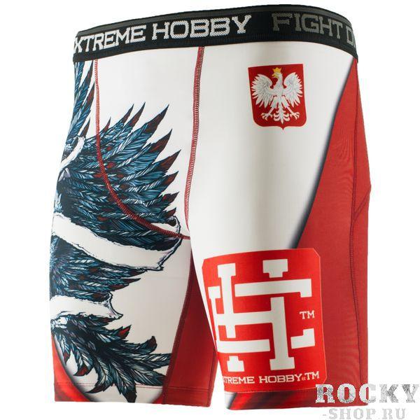 Шорты Вале Тудо POLISH EAGLE Extreme HobbyКомпрессионные штаны / шорты<br>Шорты изготовлены из высококачественного материала. Влагоотводящий материал позволяет оставаться телу сухим, а мышцы разогретыми. Рисунок нанесен по системе сублимации. Эластичная резинка на поясе предотвращает от соскальзывания во время боя.<br><br>Размер INT: XL