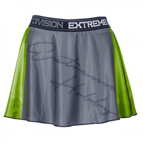 Юбка-шорты RAPID (зеленый) Extreme HobbyСпортивные штаны и шорты<br>Эластичные шорты с рисунком, которые прекрасно прилегают к телу. Шорты составляют единый комплект со свободной, слегка волнистой юбкой. Предназначены для женщин, которые любят спорт и удобство. Юбка-шорты идеально подчеркивают женский характер.<br><br>Размер INT: M