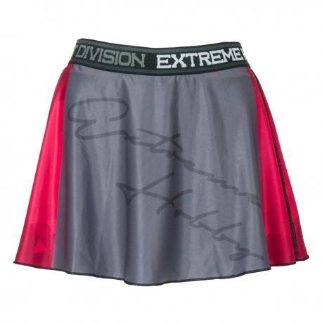 Юбка-шорты rapid (малиновый) Extreme HobbyСпортивные штаны и шорты<br>Эластичные шорты с рисунком, которые прекрасно прилегают к телу. Шорты составляют единый комплект со свободной, слегка волнистой юбкой. Предназначены для женщин, которые любят спорт и удобство. Юбка-шорты идеально подчеркивают женский характер.<br><br>Размер INT: L