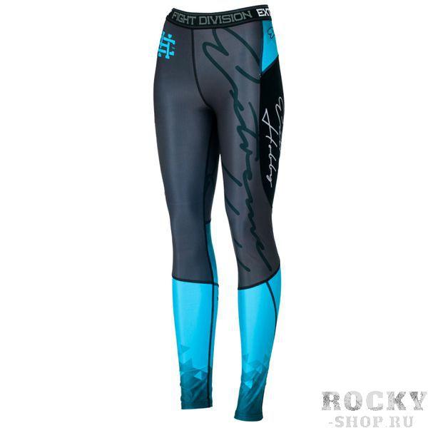 Штаны компрессионные женские RAPID (аквамарин) Extreme HobbyКомпрессионные штаны / шорты<br>Леггинсы изготовлены из высококачественного материала. Водоотталкивающая ткань оставляет тело сухим, а мыщцы разогретыми. Логотипы нанесены по технологии сублимации, благодаря чему рисунок не трескается и не царапает тело. Специальная резинка на талии предотвращает соскальзываение во время боя.<br><br>Размер INT: M