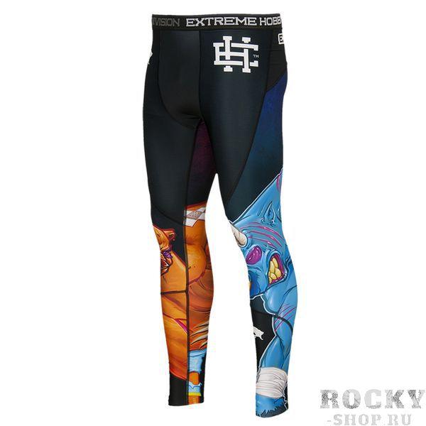 Штаны компрессионные bull &amp; bear Extreme HobbyКомпрессионные штаны / шорты<br>Леггинсы изготовлены из высококачественного материала. Водоотталкивающая ткань оставляет тело сухим, а мышцы разогретыми. Логотипы нанесены по технологии сублимации, благодаря чему рисунок не трескается и не царапает тело. Специальная резинка на талии предотвращает соскальзываение во время боя.<br><br>Размер INT: S