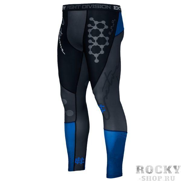 Штаны компрессионные rapid (синий) Extreme HobbyКомпрессионные штаны / шорты<br>Леггинсы изготовлены из высококачественного материала. Водоотталкивающая ткань оставляет тело сухим, а мышцы разогретыми. Логотипы нанесены по технологии сублимации, благодаря чему рисунок не трескается и не царапает тело. Специальная резинка на талии предотвращает соскальзываение во время боя.<br><br>Размер INT: L