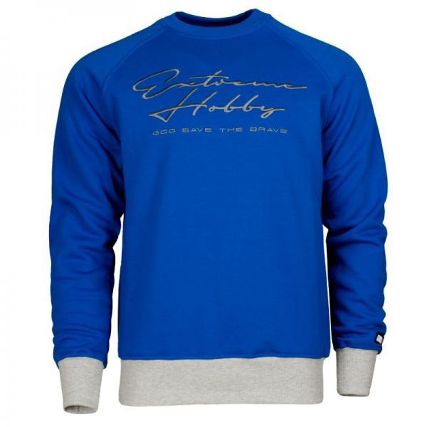 Купить Классическая толстовка rapid signature (синий) Extreme Hobby синий (арт. 18658)