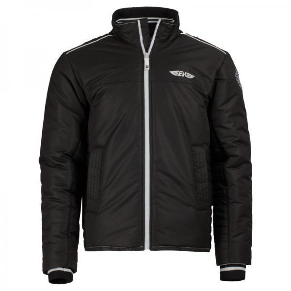 Куртка Raven черный Extreme HobbyКуртки / ветровки<br>Зимняя куртка EXTREME HOBBY RAVEN. Прекрасная защита от ненастной погоды. Благодаря внутреннему наполнителю хорошо сохраняет тепло. RAVEN– это легкая куртка спортивного кроя. Модель оснащена эластичными манжетами и двумя внутренними карманами на молнии. Материал: 100% полиэстер.<br><br>Размер INT: S