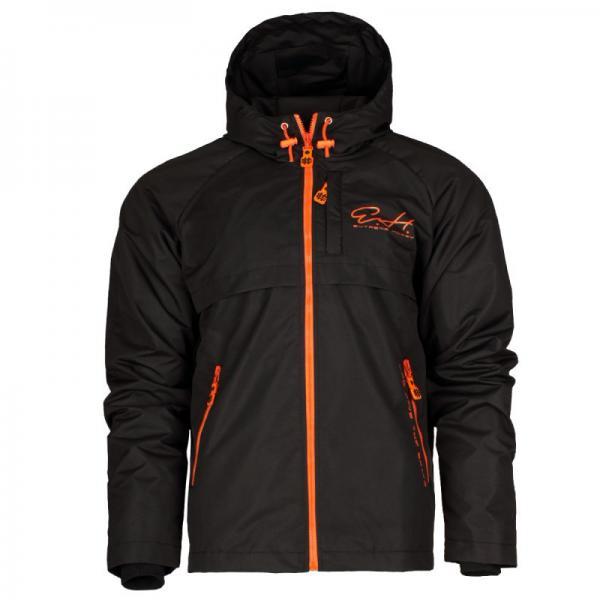 Куртка Cloud Busting EH 2 черный, черный Extreme HobbyКуртки / ветровки<br>Осенне-весенняя куртка ветровка Cloud busting создана для минимизации дискомфорта, который ощущается под конец лета, осенью и весной, когда в теплые дни вмешиваются холодные порывы ветра и дожди. Ветрозащитная ткань. Капюшон с утягивающей резинкой, застежки-молнии подмышками для эффективной вентиляции тела. 100% Полиэстер.<br><br>Размер INT: L