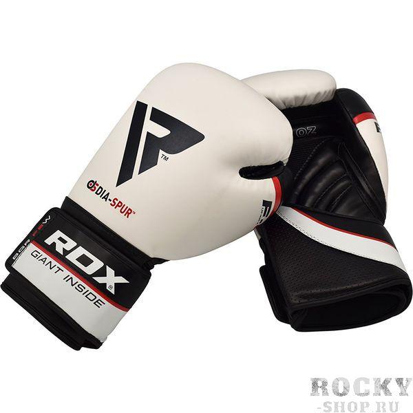 Боксерские перчатки RDX HEXOGEN white, 14 OZ RDXБоксерские перчатки<br>Боксерские перчатки RDX. RDX предлагает боксерские перчатки из синтетической кожи Maya Hide Leather высочайшего качества. Данный продукт являются отличной, более дешевой альтернативой перчаток кожаных. Вы все равно получаете качественный продукт от RDX ручной работы. Универсальные перчатки идеально подходят как для легких спаррингов так и для жесткой работы по мешкам и лапам.<br>