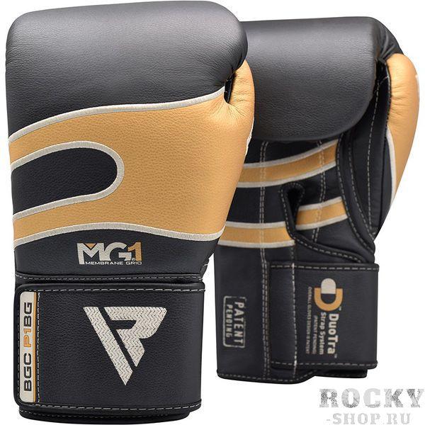 Боксерские перчатки RDX Bazooka Black Gold, 12 OZ RDXБоксерские перчатки<br>Перчатки из натуральной кожи. Идеальные перчатки для любой высокоинтенсивной ударной тренировки, они выложены двумя отдельными слоями запатентованной пены EVA-LUTION ™; Один на внешней стороне и один на внутренней стороне вашей руки. Эти слои работают, чтобы смягчить ваши суставы и равномерно рассеять любые тяжелые удары. Двойные слои пены EVA-LUTION ™ обеспечивают беспрецедентную защиту перчаток. Хорошо вентилируемые благодаря прочной вентиляционной сетки Cool-XЗастегиваются с использованием запатентованного механизма Velcro Quick-EZ, обеспечивающего надежную подгонку по руке спортсмена.<br>