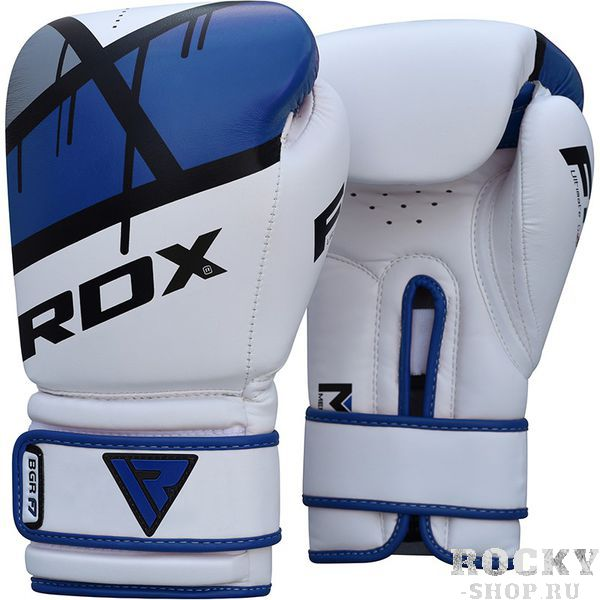 Купить Боксерские перчатки RDX Ego Blue 14 oz (арт. 18831)