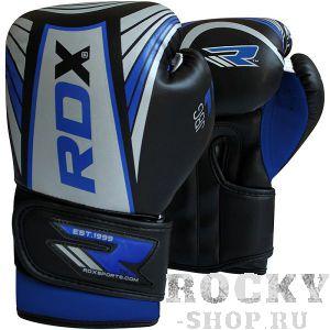 Купить Детские боксерские перчатки RDX Kids Silver/Blue 4 oz (арт. 18836)