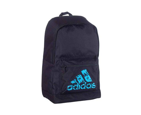 Рюкзак Basic Backpack черно-синий AdidasСпортивные сумки и рюкзаки<br>Модель 2017 года.  Коллекция adidas martial arts &amp; boxing.  Рюкзак имеет регулируемые лямки, передний кармани один большой отсек. Материал: Прочный 100% полиэстер. Мягкая спинка для комфортного использования. Передний карман для аксессуаров. Отлично подходит для повседневного использования. Размер: 45х30х17 см<br>