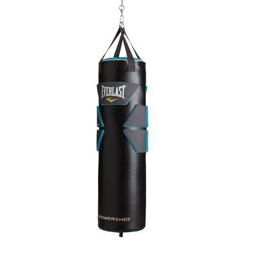Боксерский мешок Everlast Powershot Gel PU, 36 кг, 33x100 см EverlastСнаряды для бокса<br>Новинка от Everlast! Боксерский мешок для интенсивных тренировок. Гелевые вставки расположены на уровне важных зон поражения, что позволяет бить точно в цель. Сделан из качественной синтетической кожи. Надежные нейлоновые лямки. Размеры 33*100 см. Вес 36 кг.<br>