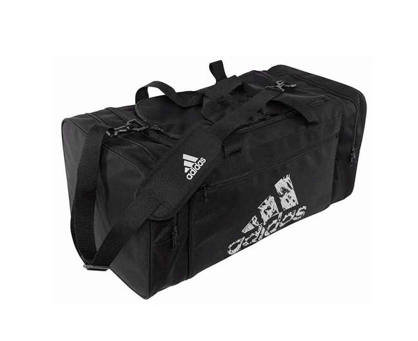 Купить Сумка спортивная Team Bag M черная Adidas (арт. 19034)