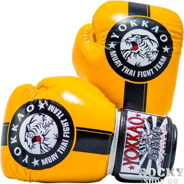 Купить Боксерские перчатки Yokkao Official Fight Team 12 oz (арт. 19477)