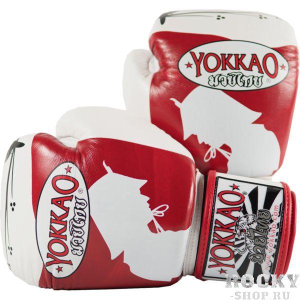 Боксерские перчатки Yokkao Ronin, 12 oz YokkaoБоксерские перчатки<br>Боксерские перчатки Yokkao Ronin. Yokkao - один из лидеров по производству экипировки для тайского бокса. Данные перчатки подойдут и для работы на мешках, и на лапах, и для работы в самых жестких спаррингах. Внутри перчатки наполнены пеной, которая хорошо гасит силу ударов и не дает рукам травмироваться. Большой палец на перчатки зафиксирован. Данные перчатки для бокса выполнены из кожи КРС. Запястье надёжно фиксируется манжетой. Сделаны вручную в Таиланде.<br>