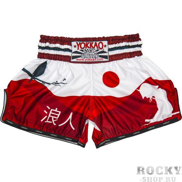 Купить Тайские шорты Yokkao Red Ronin yoktshorts013