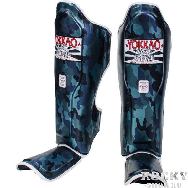 Шингарды Yokkao Navy Seal YokkaoЗащита тела<br>Защита на ноги (шингарды) Yokkao Navy Seal. Данный вид шингард предназначен для особо сильной работы ногами. Поэтому эта защита голени пользуется популярностью у бойцов тайского бокса и к-1. Хорошо облегают ногу не создавая какого-либо дискомфорт бойцу. Метод крепежа- регулируемый ремешок-липучка. Предусмотрена защита не только голени, но так же суставов и связок стопы. Все швы тщательно укреплены. Внешняя обивка: искусственная кожа высочайшего качества. Продаются парой. Сделано в Таиланде.<br><br>Размер: L