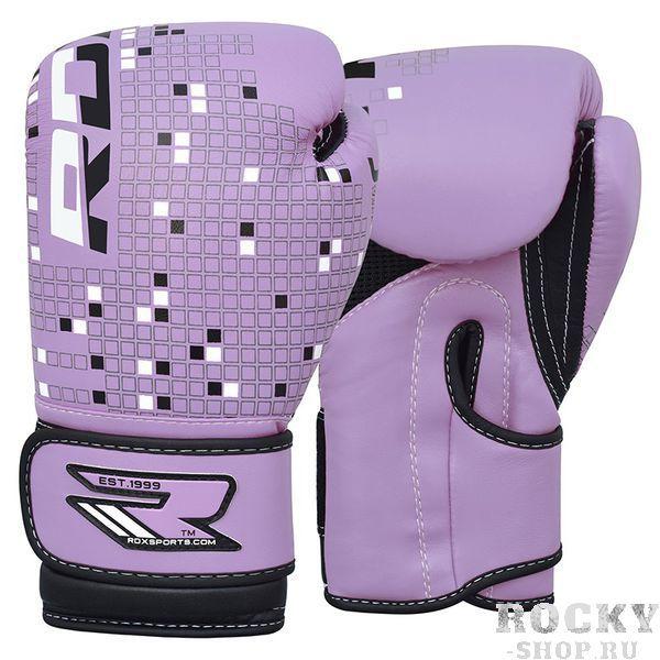 Купить Детские боксерские перчатки RDX Dino purple 6 oz (арт. 19527)