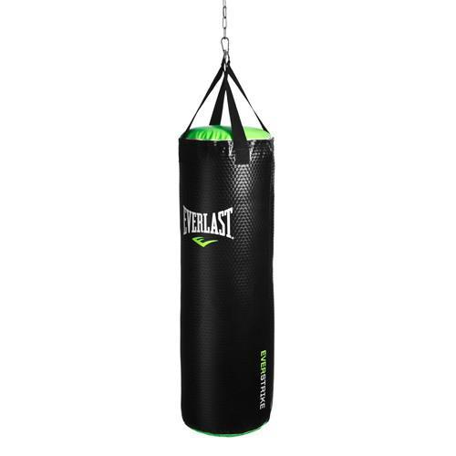 Боксерский мешок Everlast Everstrike PU, 32кг., 33x100 EverlastСнаряды для бокса<br>Специально подобранная запатентованная комбинация набивки, которая сочетает синтетические и натуральные материалы, превосходно абсорбирует самые тяжелые удары. Премиальная синтетическая кожа гарантирует долговечность этого боксерского мешка.<br>