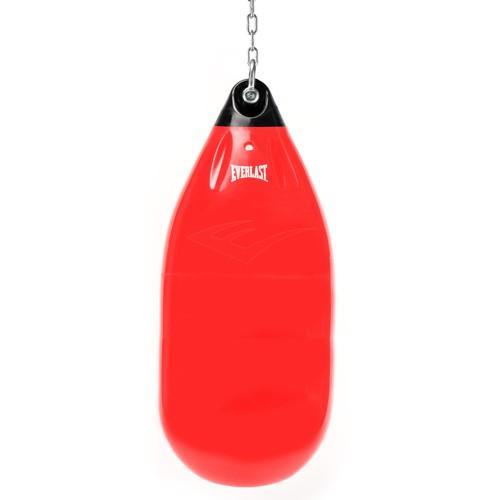 Водоналивной боксерский мешок Everlast Hydrostrike, 45 кг, 72 х 37см EverlastСнаряды для бокса<br>Новое поколение тяжелых мешков, которые превосходно подходят как для занятий спортом , так и для фитнесса. Благодаря используемой технологии HYDROSTRIKE™ мешок обеспечивает прекрасное погашение импульса удара, тем самым нагрузка на суставы запястья, локтя и плеча становится меньше, а тренировки комфортнее и продуктивнее. Вес мешка в наполненом водой состоянии – 45 кг. Компактная конструкция мешка позволяет легко перевозить его в обычной сумке. Доступен в черном, красном, жёлтом и синем цветах. Сделано в США.<br><br>Цвет: Красный