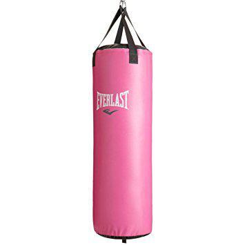 Боксерский мешок Evarlast Nevatear Pink, 36кг, 100*33 см EverlastСнаряды для бокса<br>Отличный подарок для любительницы единоборств. Комфортная набивка, оригинальная расцветка и премиальная синтетическая кожа. Вес 36 кг.<br>