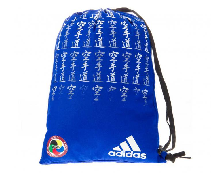 Мешок для кимоно Satin Carry Bag Karate WKF сине-белый