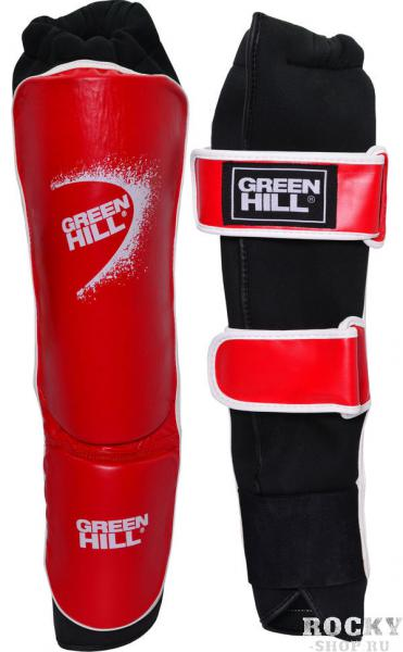 Защита голень+стопа shell одобрена фкр, Красная Green HillЭкипировка для кикбоксинга<br>Защита голень+стопа SHELL предназначена для соревнований по кикбоксингу. Защита имеет эластичный чулок для плотной фиксации защиты на ноге, а так же ремни на липучке, для дополнительной фиксации. Материал защиты 100% полиуретан, внутренняя сторона стретч полиестер и микроволокно. Модель одобрена Федерацией Кикбоксинга России. - Голень выполнена чулком- Ремни для лучшей фиксации- 100% полиуретан- Одобрено Федерацией кикбоксинга России<br><br>Размер: M