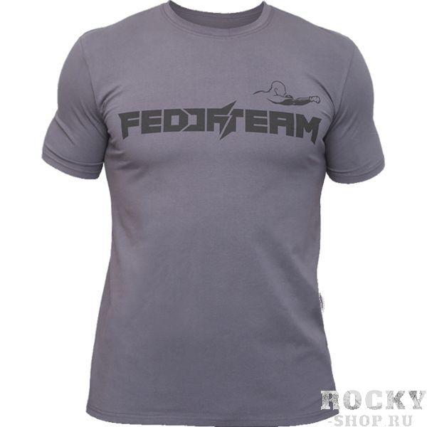 Футболка Fedor Team Fedor EmelianenkoФутболки<br>Футболка Fedor Team. Официальная футболка от легендарного Фёдора Емельяненко. Уход: машинная стирка в холодной воде, деликатный отжим, не отбеливать. Состав: 92% хлопок, 8% лайкра.<br><br>Размер INT: S