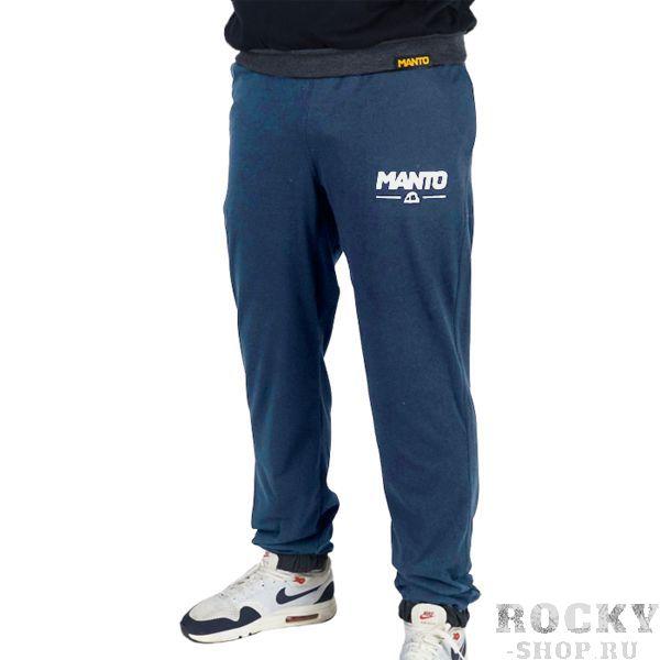 Штаны Manto Combo Light Demin Blue MantoСпортивные штаны и шорты<br>Спортивные штаны Manto Combo Light Demin Blue. Отлично подойдут и для тренировок, и в качестве прогулочного варианта. На бедрах штаны удерживаются с помощью резинки и шнурка, спрятанного в пояс. Манжеты в нижней части брюк оснащены резинкой. Присутствуют два боковых и один задний карманы. Спортивные штаны Manto очень мягкие, приятные на ощупь. Уход: Машинная стирка в холодной воде, деликатный отжим, не отбеливать! состав: 100% хлопок.<br><br>Размер INT: S