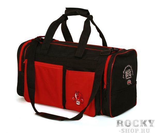 Сумка спортивная Cleto Reyes, Черный/красный, Д*Ш*В: 55см * 27см * 33см Cleto ReyesСпортивные сумки и рюкзаки<br>Спортивная сумка Cleto Reyes <br> Большая вместительность<br> Удобные карманы для переноски экипировки<br> Материал - нейлон<br>